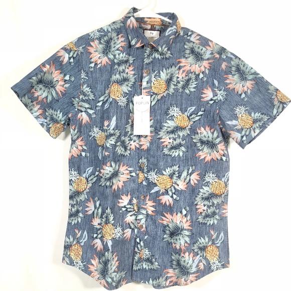 546958c91ae DENIM   FLOWER Ricky Singh Mens Slim Fit Shirt